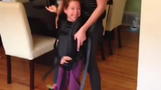Girl With Cerebral Palsy Dances Without Her Walker For The First Time