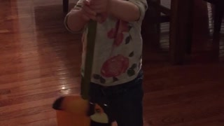 Baby Sweeper! - Video