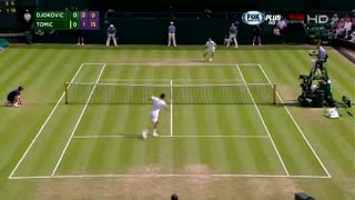 Novak Djokovic vs Bernard Tomic - Round 3 - Wimbledon 2015 - Video
