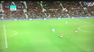 GOOOAL Zlatan Ibrahimovic vs Sunderland 2-0 - Video