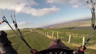 Paragliding Speed Run - Video