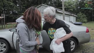 This Grandma Makes A Difference In 300 Lives A Day! - Video