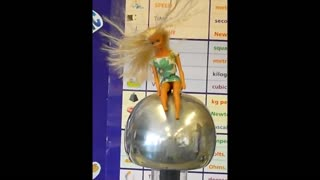 Barbie on the Van Der Graaff