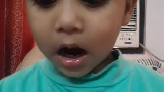 Funny and cute kid