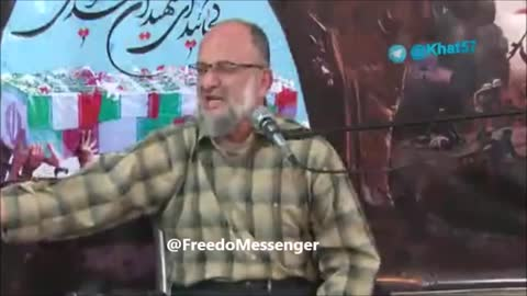 Saeed Ghassemi speaking against Rouhani adminstration