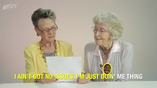 Kanye West's 'Real Friends' Read By Adorable Grandmas - Video