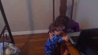 14m old explains he wants to watch youtube with his sister - Video