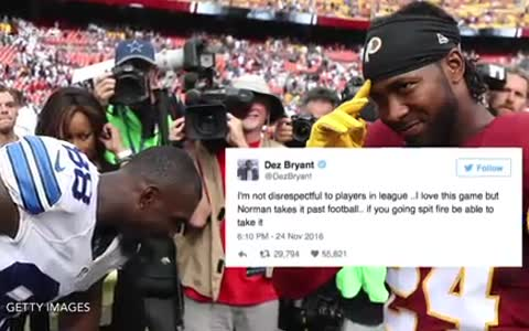 Josh Norman Changes His Story About Dez Bryant Threat