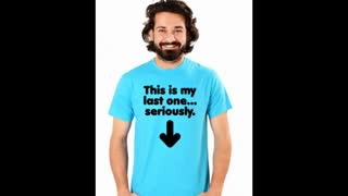 Turquoise Colour Funny T Shirts