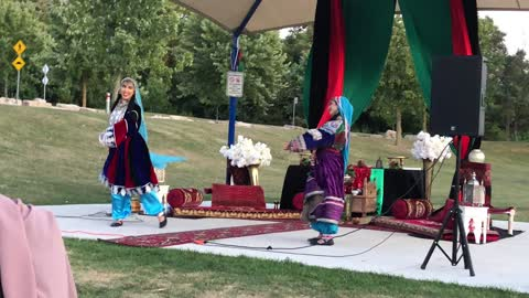 Afghan tradition dance On Afghanistan 🇦🇫 Independent day in Toronto Canada
