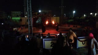 Dark Under Taker Intro In Night Circus Strong Guy Show