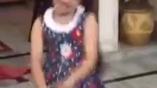 punjabi little girl awesome dance must watch - Video