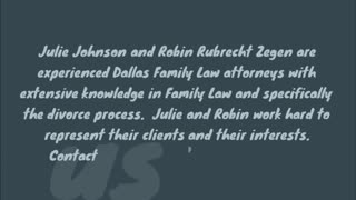 Dallas family law attorney - Video