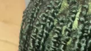 Fat twist with 2 strand twists