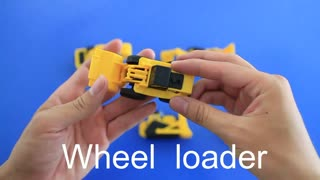 Learning Construction Machine Names and Sounds for kids - Video
