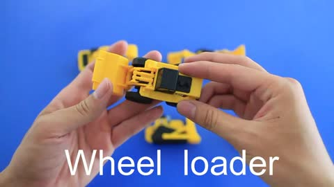 Learning Construction Machine Names and Sounds for kids