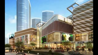 Fusion Ufairia Shopping Complex Noida Extension - Video