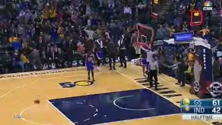 Steph Curry's Amazing 75-Foot Shot - Video