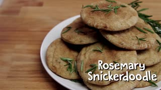 Rosemary Snickerdoodles, Christmas in a Cookie - Video