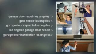 garage door installation los angeles - Video