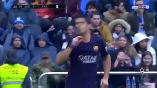Gol de Suarez vs Deportivo - Video
