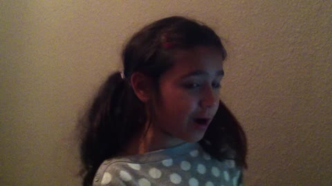Young girl amazingly sings John Legend acapella