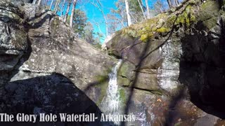 Secret waterfall is a hidden Arkansas treasure - Video