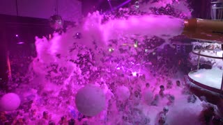 Paris Hilton's Foam & Diamonds event in Ibiza - Video