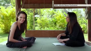 Angelina Jolie on divorce, film and Cambodia- BBC News - Video