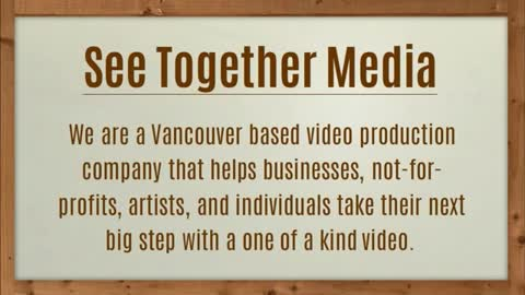 Vancouver Corporate Video