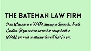 dui lawyer greenville sc - Video