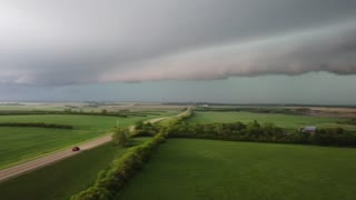 Multiple Storms Captured by Storm Chasers