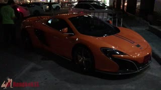 Orange Lamborghinin in Bangkok