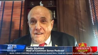 Giuliani reacts to day one of impeachment