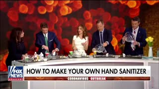 Fox News coronavirus sanitizer recipe