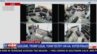 Video footage from Georgia shows suitcases filled with ballots