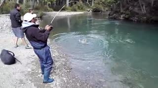 Boys Fishing in a Very beautiful place and they got big fish  - Video