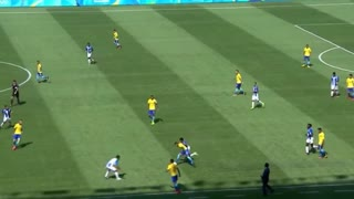 Neymar Humiliating Honduras Player - Video