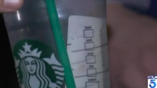 Mom Finds Red Smear Inside Toddler's Starbucks Cup. Worker Had a Bloody Cut - Video