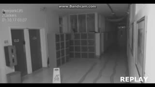 Ghost caught on camera? - Video