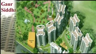 Gaur Siddhartham Apartments Payment Plan - Video