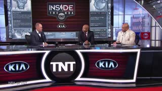 Charles Barkley Loses Shooting Contest to Ernie Johnson, Gronk Challenges Shaq - Video