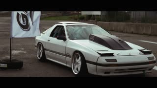 Drifting in an insane Japanese race car - Video