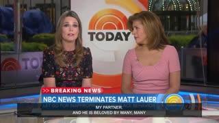 NBC Matt Lauer Fired After Sexual Assault Complaint - Video