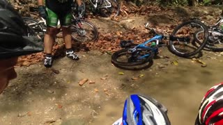Bad Bicycle Accident - Video