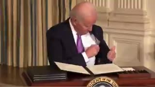 "Pen 1 - Joe Biden 0 - With a ""F**k"" Remark - Spot The Wire!"