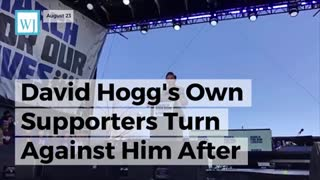 David Hogg's Own Supporters Turn Against Him After 'Sexist' Nancy Pelosi Comment