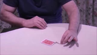 A Ghost Card Escapes From  Its Restraint - Video