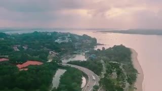 Landing at Changi International Airport  - Video