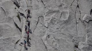 Hiking Half Dome, Yosemite National Park, USA - Video